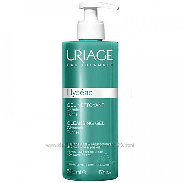 Очищающий гель Урьяж Исеак Uriage Hyseac Cleansing Gel Nettoyant 500мл