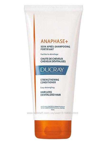 Кондиционер для роста и укрепления волос Дюкрей Анафаз Ducray Anaphase Soin Apres-Shampooing Fortifi в объеме