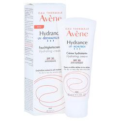 Увлажняющий насыщенный защитный крем Авен Гидранс рич спф Avene Hydratation Hydrance Optimale UV Riche SPF 30