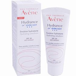 Авен Гидранс Легкий увлажняющий защитный крем Avene Hydratation Hydrance Optimale UV Legere SPF 30 40мл