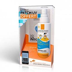 Детский солнцезащ спрей Ля Рош Посей Антелиос спф La Roche-Posay Anthelios Dermo-Pediatrics Spray SPF 50 200мл в наборе с УВ