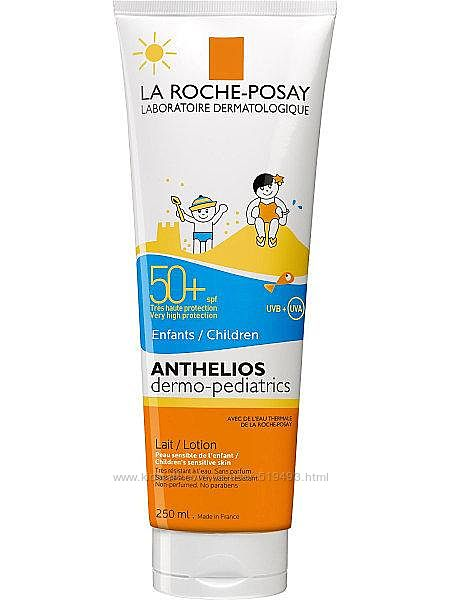 Детское молочко спф 50 Ля Рош Посей Антелиос La Roche-Posay Anthelios 250мл