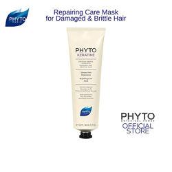 Маска Фито Кератин для поврежденных волос Phyto Phytokeratine Repairing Care Mask Masque 150мл