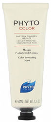 Маска для окрашенных волос Фито Колор Phyto Color Masque Protect De Couleur Mask 50мл