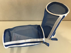 Косметичка пенал Avene Авен полупрозрачная, хорошо держит форму 158см