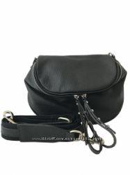 1938543427d5 Кожаная сумка кроссбоди -модель вместительная , Made in Italy -Есть 3 цвета