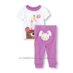 Хлопковая пижама CHILDREN&acuteS PLACE - размер 3Т