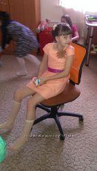 Чудесное платье из парчи NEXT 9 лет