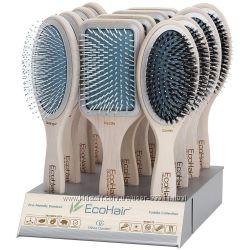 Щетки для волос Olivia Garden Eco Hair Eco-Friendly Paddle Collection