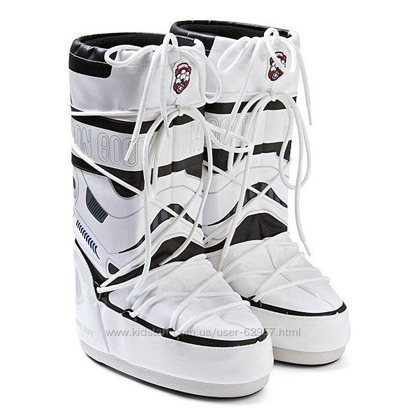 Умные зимние сапоги луноходы Moon Boots Star Wars Stormtrooper Оригинал