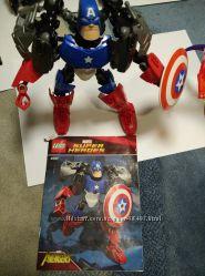 LEGO Super Heroes CAPTAIN AMERICA  КАПИТАН АМЕРИКА 4597