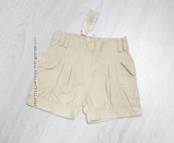 Летние шорты на девочку коттон хлопок В Наличии 104 110 116 122 рост