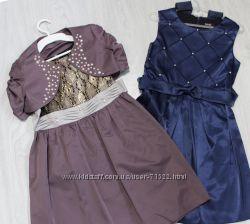 Нарядное платье для девочки В Наличии на праздник 122 128 134 140 146 рос