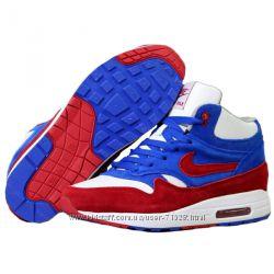 04f01692 Зимние молодежные кроссовки Nike Air Max Натуральная кожа и натуральный