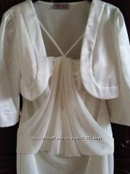 Свадебное платье 42р. производства Польша