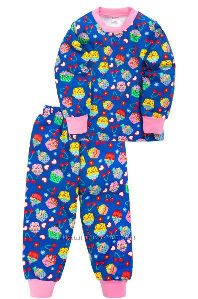 пижамы 3-8 лет