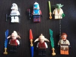 Лего человечки war stars lego