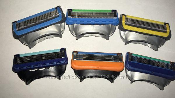 Оригинальные лезвия GILLETTE всех видов а также Schick Quattro поштучно