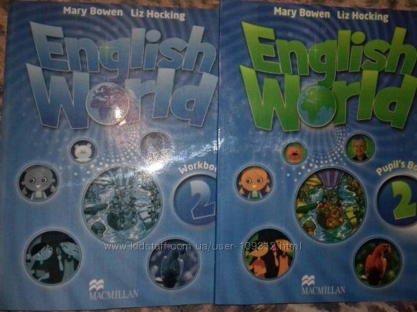 English World 2 Английский комплект учебник, рабочая тетрадь