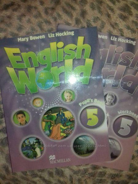 English World 5 Английский комплект учебник, рабочая тетр