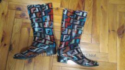 Резиновые сапоги разноцветные