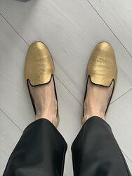 Туфли лоферы Saint Laurent. Оригинал Италия