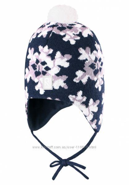 Зимняя шапка-бини для девочки Reima