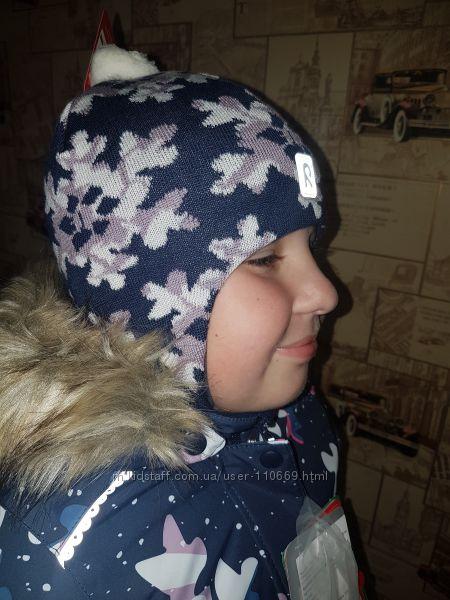 шапки и шлемы REIMA зима  для девочек  часть 1