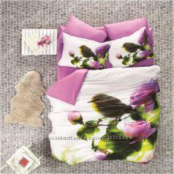 Элитное постельное белье Luoca Patisca 3D сатин скидка 30 проц до 5 февраля
