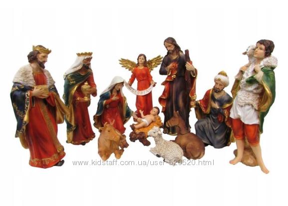 Різдвяний вертеп , шопка , різдвяні фігурки