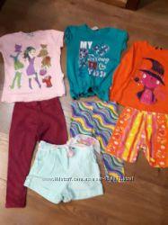 Продам пакет летних вещей на девочку 3-4года