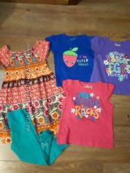 Продам пакет летних вещей на девочку 3-4 года.