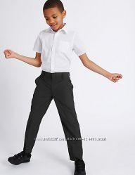 Черные школьные брюки marks&spencer на 7-8-9 лет на 128-134 см