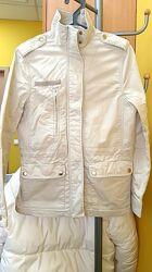 Ветровка куртка полностью натуральные ткани H&m