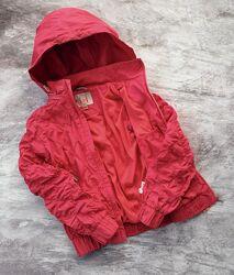 Легкая куртка, ветровка для девочки и Шапка, есть Нюансы см. описание