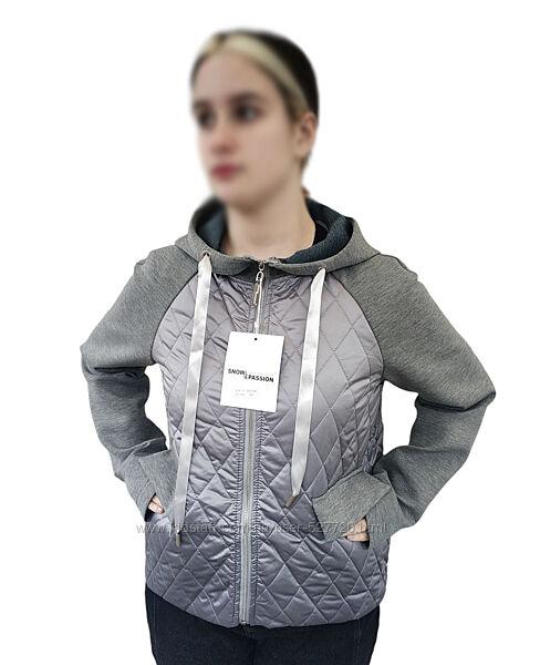 Куртка женская, ветровка демисезонная, кофта с капюшоном, см. замеры в описани