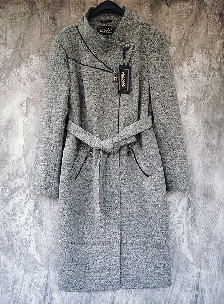 Женское стильное демисезонное пальто, батал, большой размер, см. замеры
