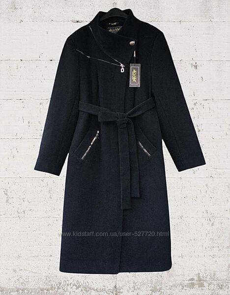 Женское кашемировое демисезонное пальто, батал, большой размер, см. замеры