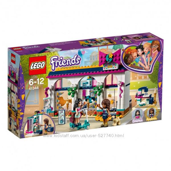 41344 LEGO Friends Магазин аксессуаров Андреа  оригинал