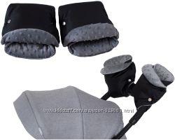 Муфта для рук на коляску, санки Matpol флис, овчина, минки