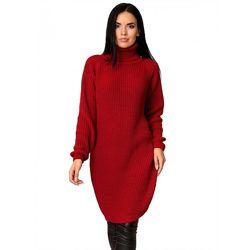 Коллекция стильных теплых вязанных платьев