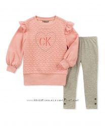 Calvin Klein, набор туника и леггинсы, 4 года