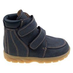 Ортопедические ботинки зимние Ортекс, синие, натуральная кожа, мех.