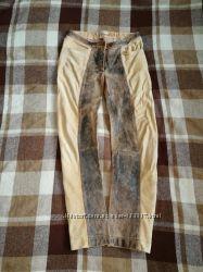 Штаны Catherina Lucchi, made in Italy, натуральная кожа, Пот 37, поб 46