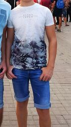 футболка Rebel 12-13 лет рост 158см