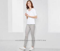 Красивые шикарные серые женские треггинсы джинсы  М-ка, L-ка TCM Tchibо