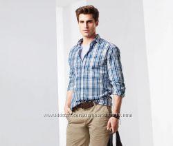 Модная хлопковая мужская рубашка р. XL-ка  TCM Tchibo