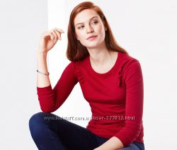 Симпатичная реглан футболка блуза р. М-ка, L-ка   ТСМ Tchibo