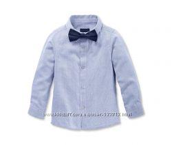 Классная детская хлопковая рубашка р. 158-164  TCM Tchibo