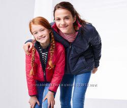 Двухсторонняя стеганая детская курточка р. 110-116  TCM Tchibo